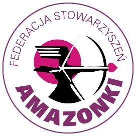 logo federacja stowarzyszeń amazonki