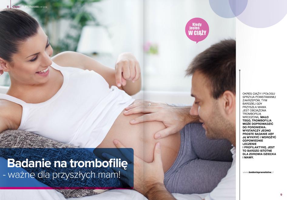 badanie na trombofilię wrodzoną