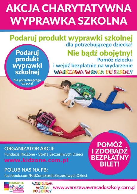 Event Warszawa Wraca do Szkoły już w najbliższą sobotę!