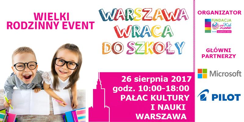 Warszawa wraca do szkoły