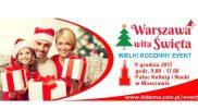 Warszawa wita Święta już 9 grudnia!