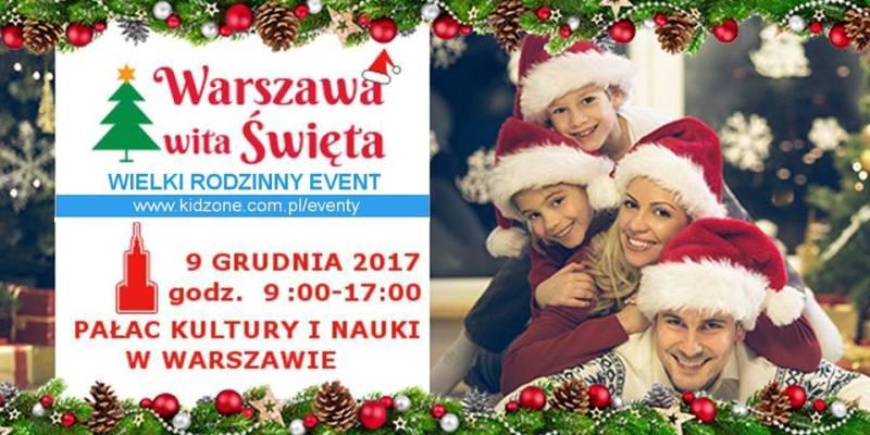 Warszawa wita Święta już w sobotę!