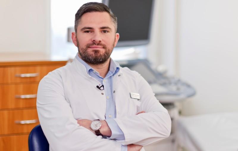 Dr n. med. Robert Woytoń, specjalista ginekologii i położnictwa