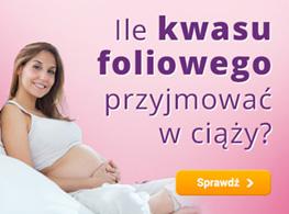 Ile kwasu foliowego przyjmować w ciąży