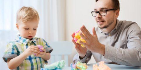 zabawy z dzieckiem w domu, kreatywne zabawy z dzieckiem
